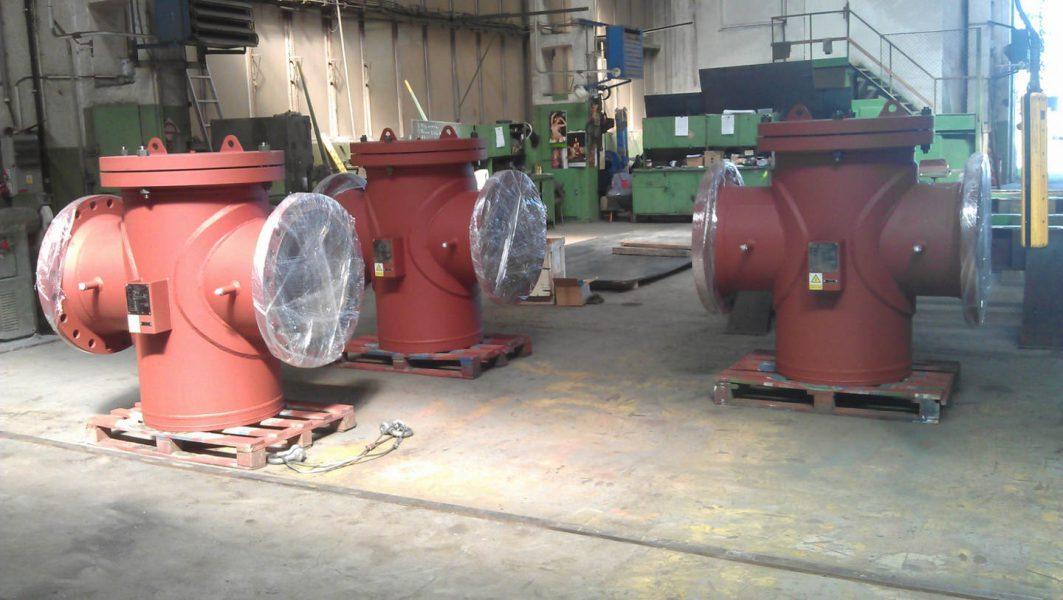Potrubní síta pro vodní  elektrárny