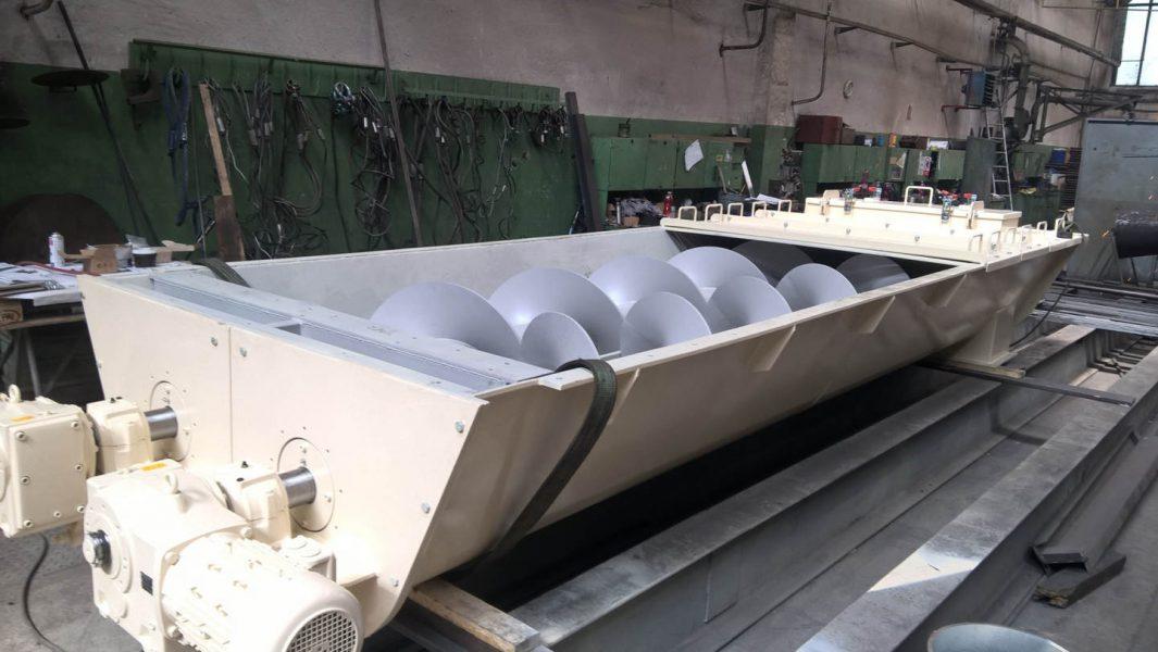 Zařízení linky pro zpracování kameninové vlny
